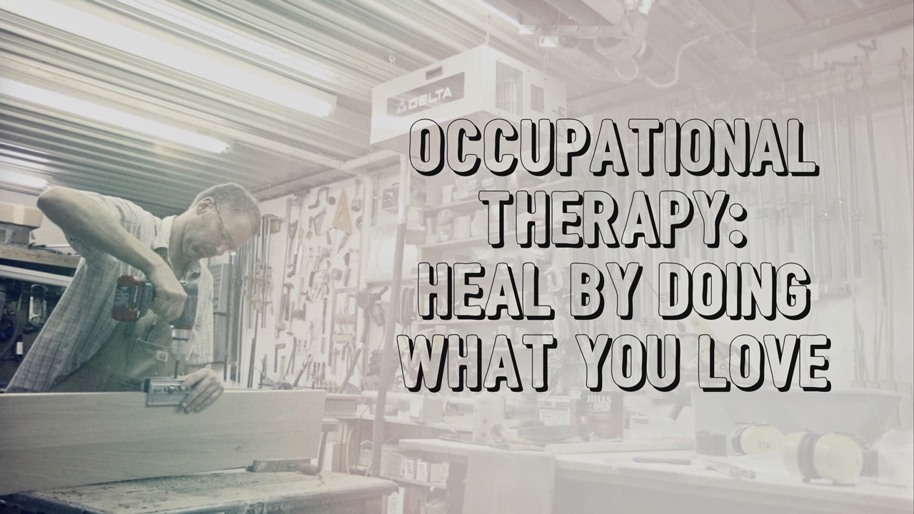 Heal by doing what you love.