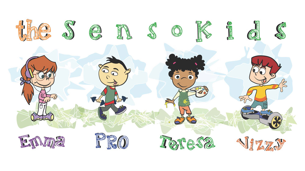 The SensoKids are copyrighted by  OT Studios, Inc