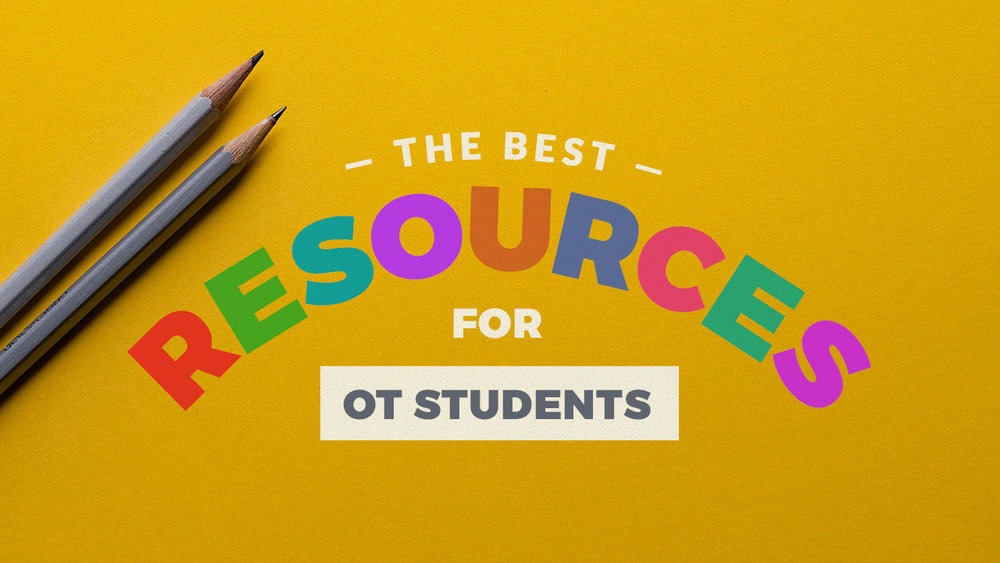 Here is a list compilation of the best resources for occupation therapy students that I have found over the years. The post includes tips for OT fieldwork, writing, studying, staying organized, connecting with other OTs, etc.