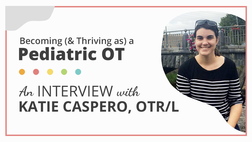 If you are curious what pediatric occupational therapy entails and/or how to become a pediatric occupational therapist, this interview will give you a glimpse into the life of a pediatric OT.