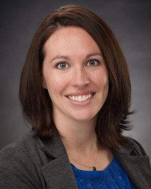 Our podcast host, Lauren Sheehan, OT