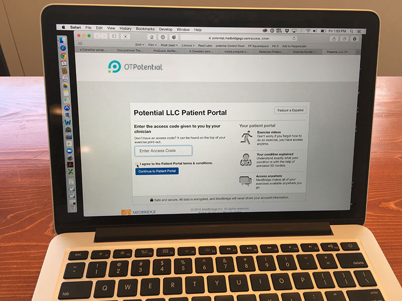 The pros and cons of MedBridge's patient education options.