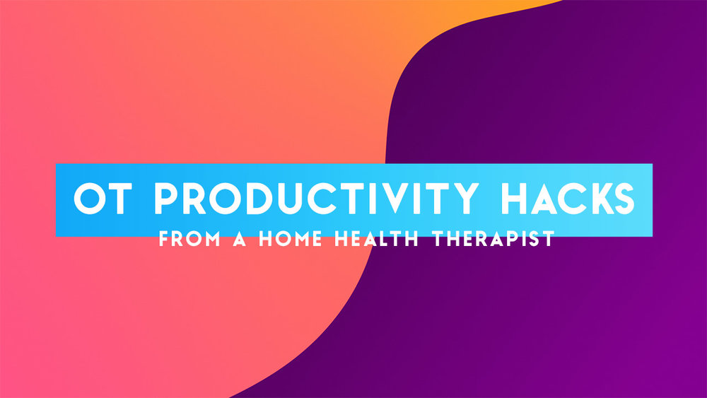 If you are ready to tackle your OT productivity, without causing burnout, check out these productivity hacks from home health OT Monika Lukasiewicz!