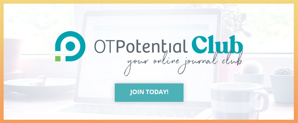 OT Potential Club – Your online journal club