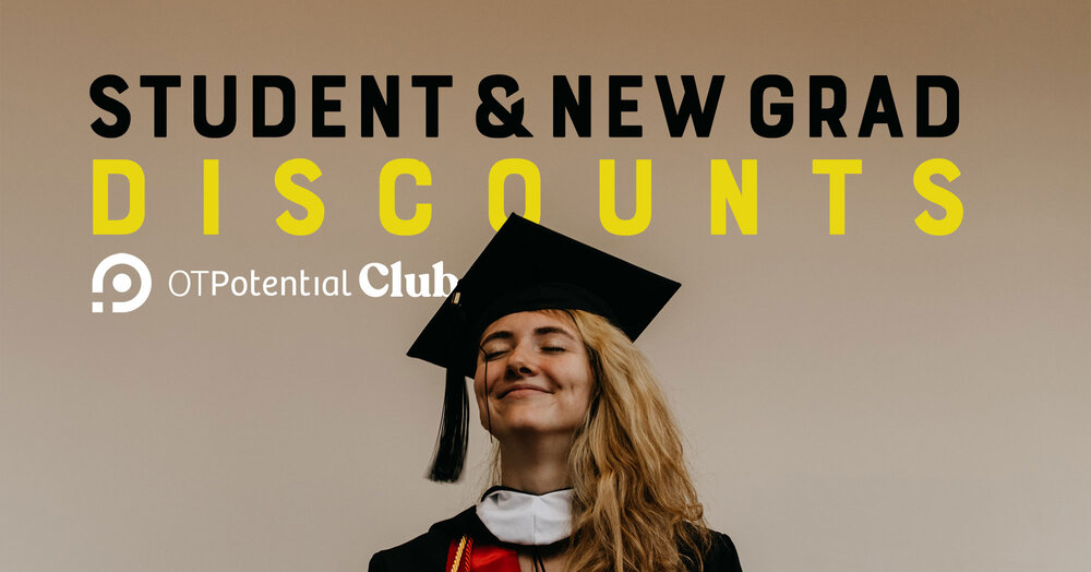 OT Potential Club discounts for students and new graduates