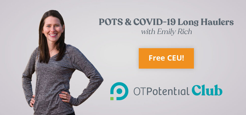Ean a free occupational therapy CEU through the OT Potential Club!