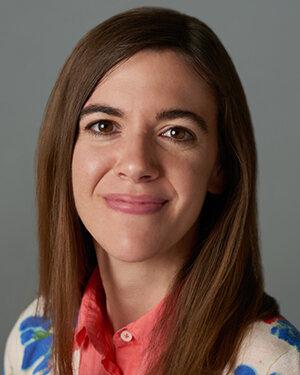 The podcast host, Sarah Lyon, OTR/L
