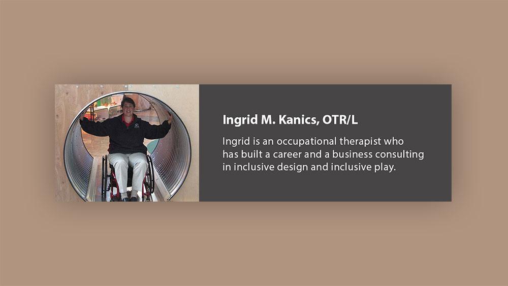 Ingrid M. Kanics, OTR/L