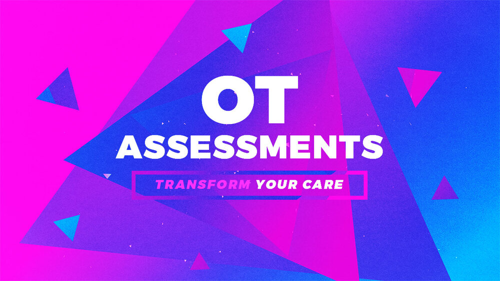 Occupational therapy assessments used in research