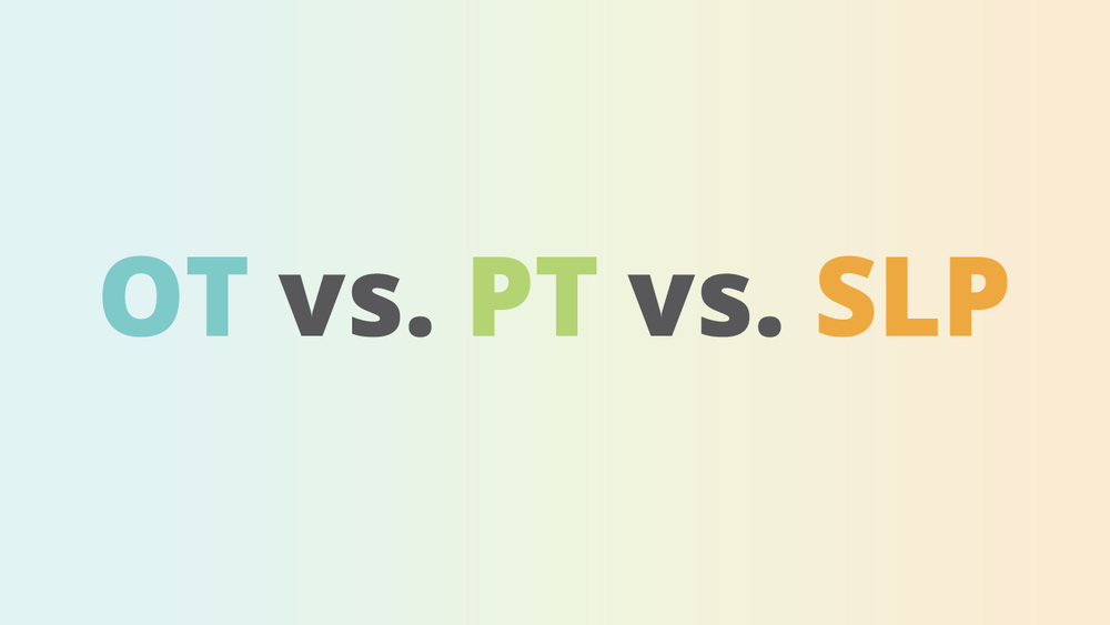If you are curious to learn about the differences and similarities between occupational therapy vs physical therapy vs speech therapy, this guide if for you! Here you will find how OT vs. PT. vs SLP compare in their definitions, salaries, niches, history and more!