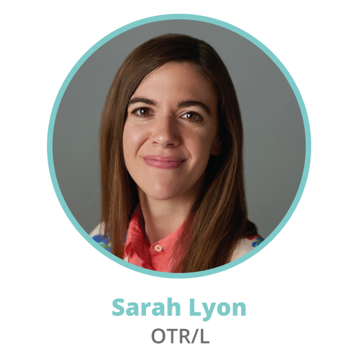 Sarah Lyon, occupational therapist and head writer