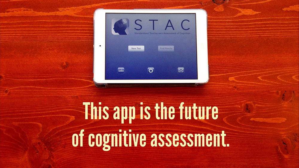 This app is the future of cognitive assessment.