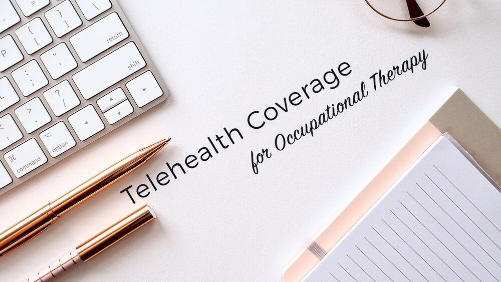 Telethealth coverage for occupational therapy